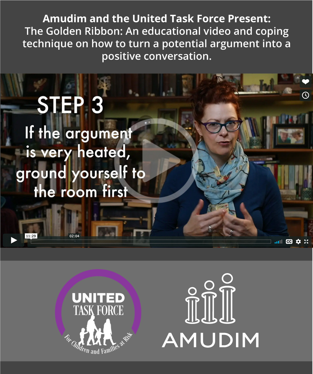 Amudim and the United Task Force Present: Educational Video How to turn a potential argument into a positive conversation.