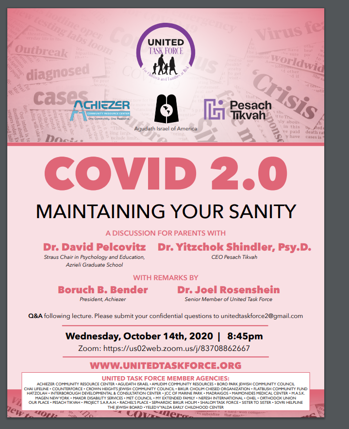 United Task Force Presents: Covid 2.0 Maintaining your Sanity