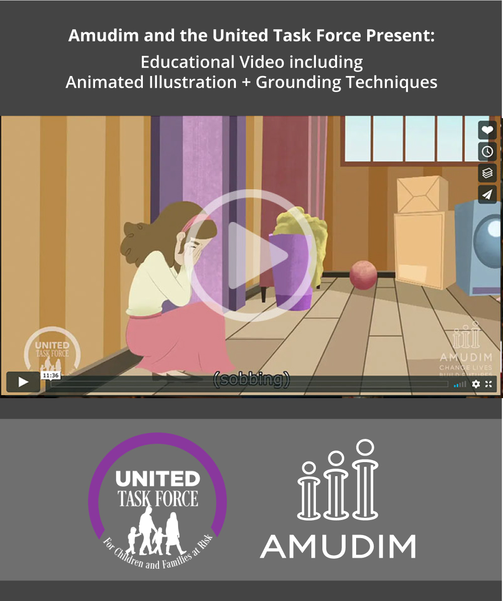 Amudim and the United Task Force Present: Educational Video including Animated Illustration + Grounding Techniques